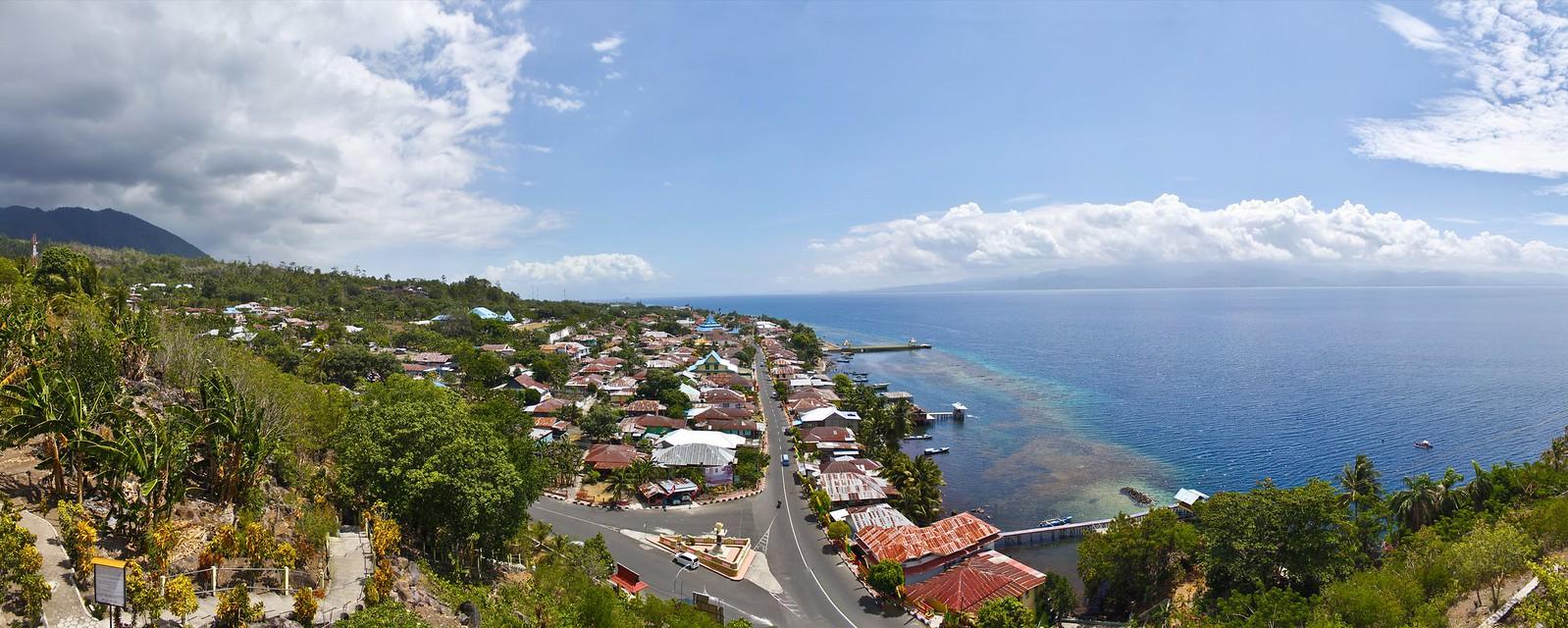 panoramica en Tidore
