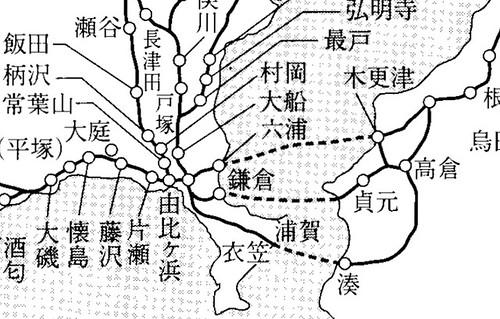 鎌倉街道要図
