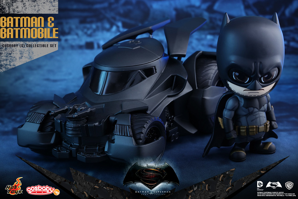 Hot Toys – COSB228 –【蝙蝠俠 & 蝙蝠車組合包】Batman & Batmobile Cosbaby