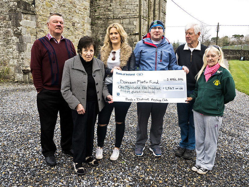 Boyle Anglers Cheque Presentation