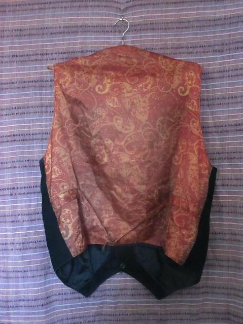 Waterlooplein waistcoat, back