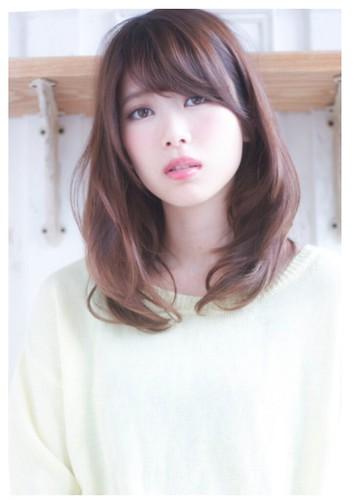 Японки о русые волосы