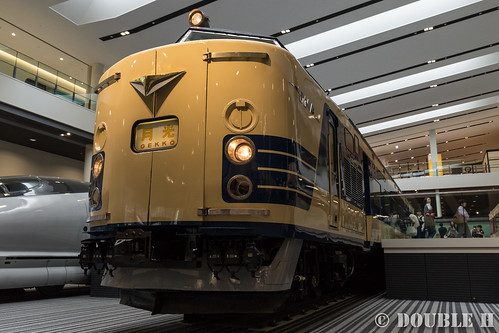 """Kyoto Railway Museum (28) Museum 1F / Kuhane581-35 """"Gekko"""""""