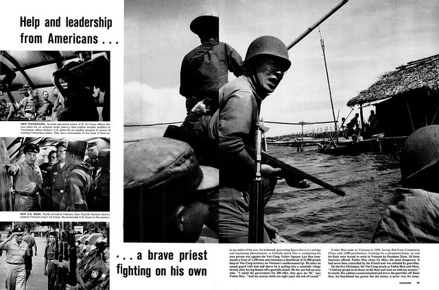LIFE Magazine March 16, 1962 (4) - Help and leadership from American... a brave priest fighting on his own