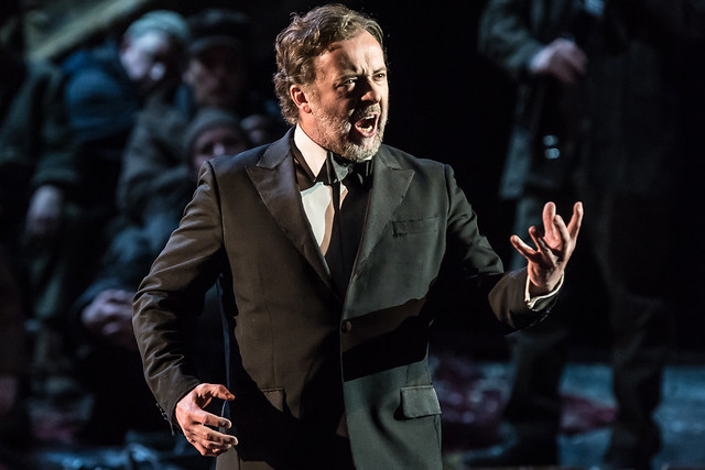Christian Gerhaher as Wolfram von Eschinbach in Tannhäuser  © ROH 2016. Photo by Clive Barda