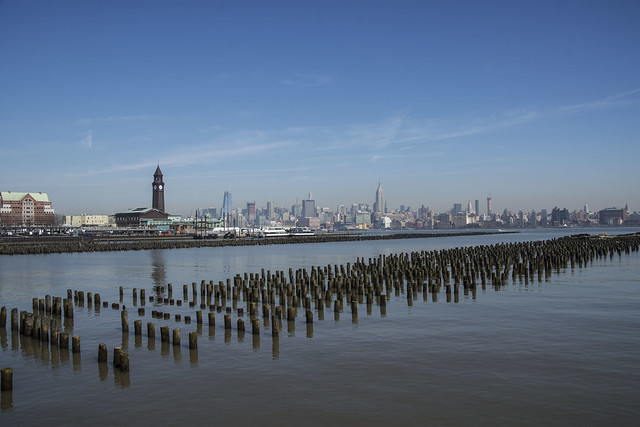 Skyline from Hoboken