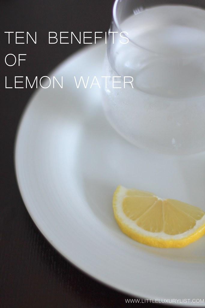 Lemon water benefits by little luxury list