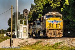 UP 5222 - SD70M - NS Memphis District West End