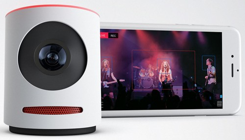 Movi - live event camera that you can broadcast and edit at the same time