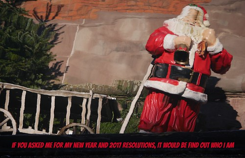 2017 resolutions to Santa Claus