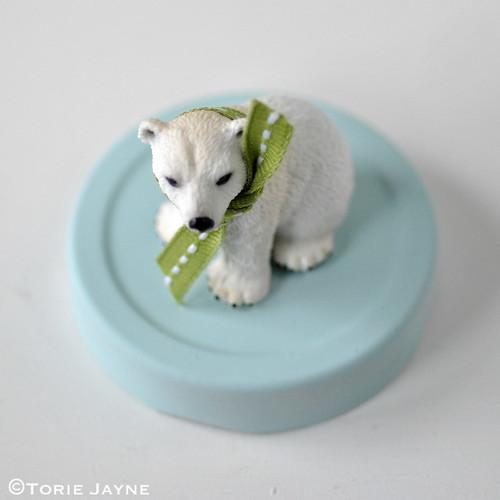 Polar bear jar tutorial 2