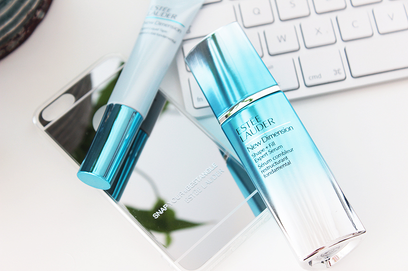 Estée Lauder New Dimension Shape + Fill Expert Serum Review