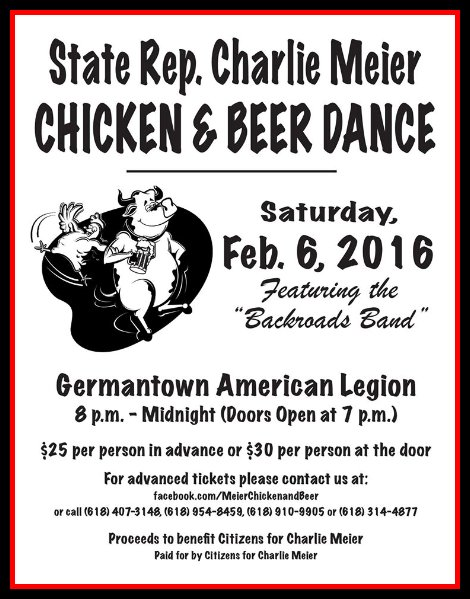Chicken and Beer Dance 2-6-16