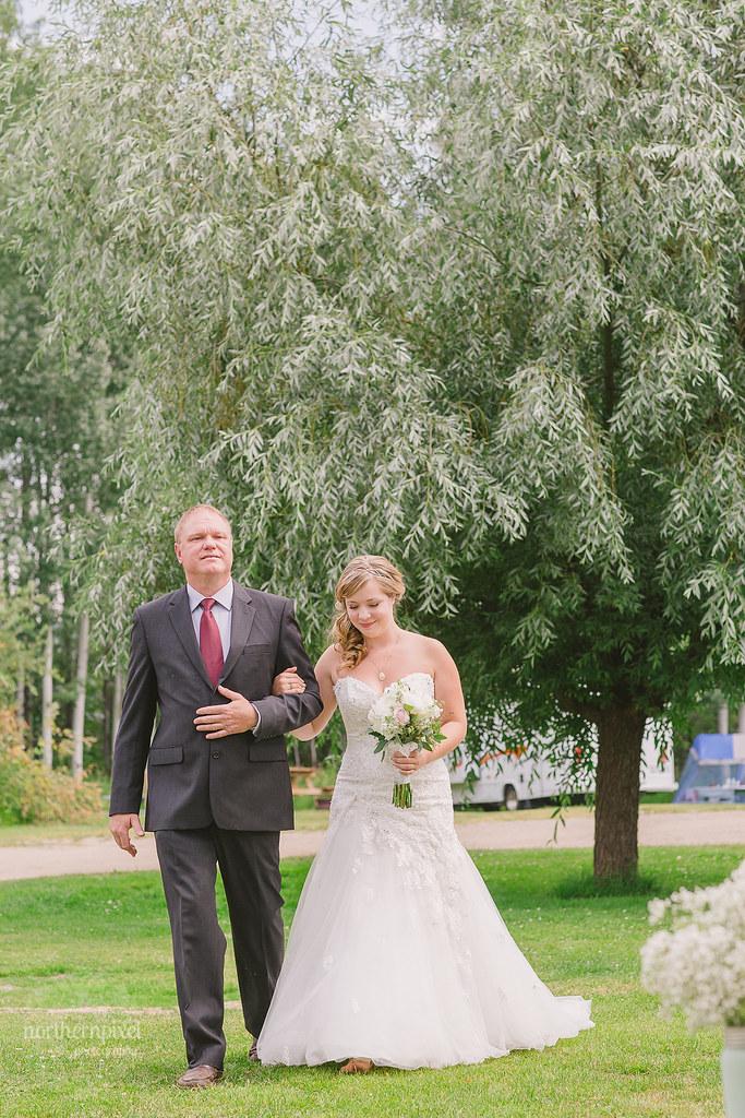 Walking the Aisle Wedding