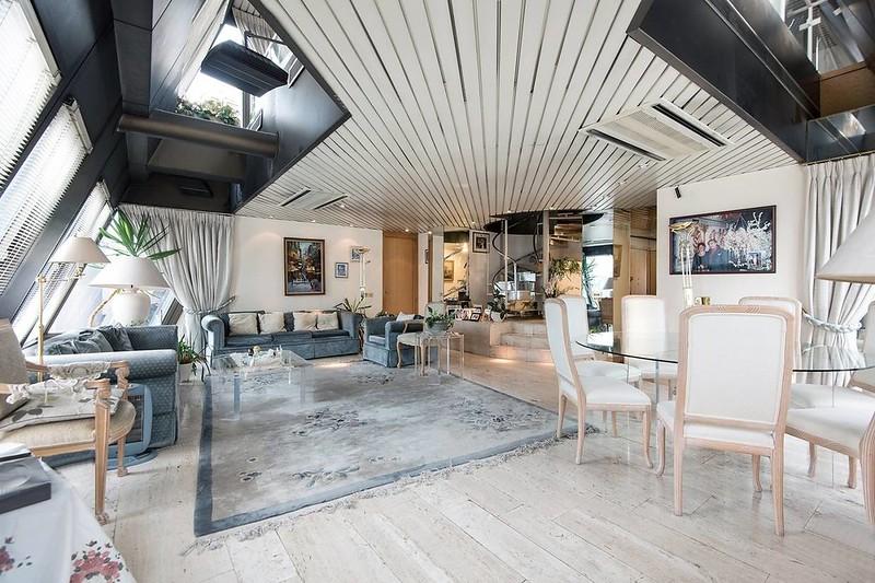Дизайн интерьера пентхауса в Лондоне