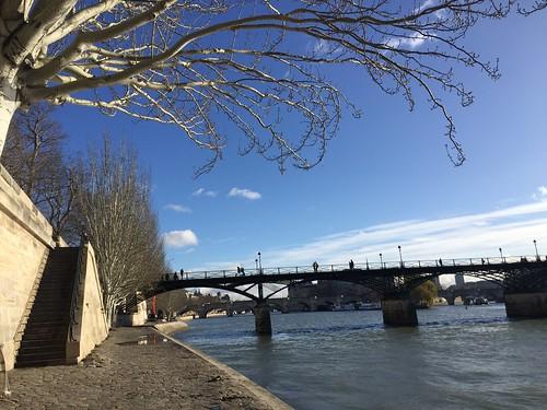 pont des arts quai Francois mitterand
