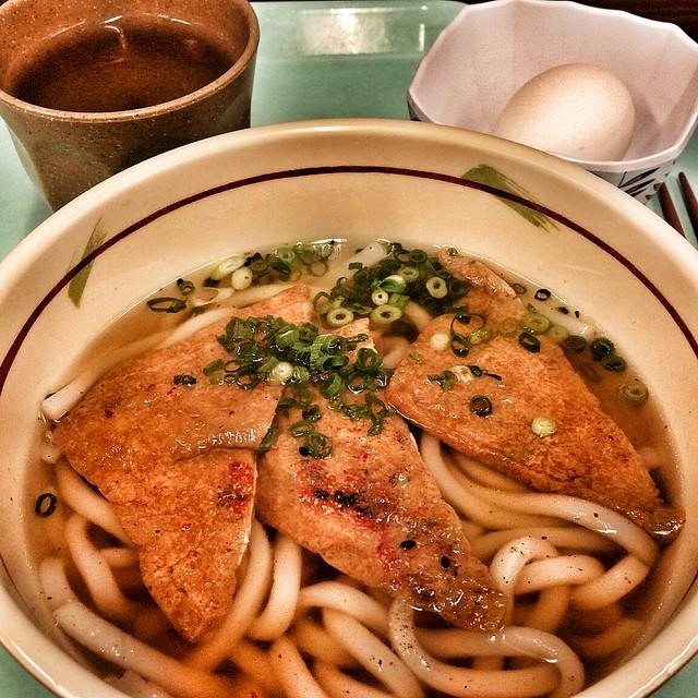 Photo:きつね (kitsune) うどん (noodle) #21 of 366 By belgaman