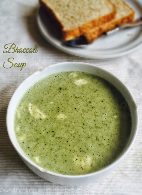 Broccoli Soup Recipe for Toddlers and Kids3