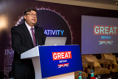Seminar on exploring the UK creative tech innovation ecosystem in Bengaluru