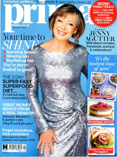 PRIMA Magazine - January 2016 - Cover
