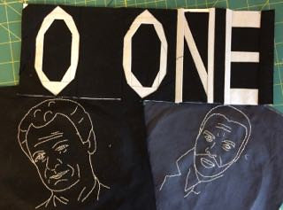 X-Files Quilt 2/3