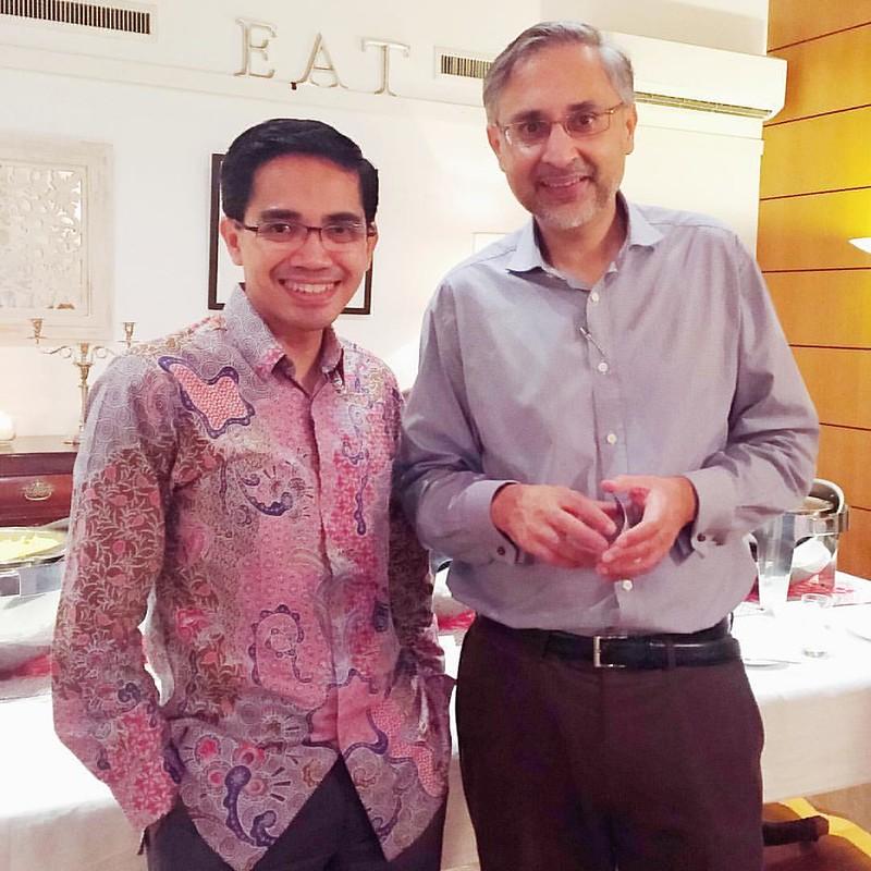 Small chats with Mr Moazzam Malik, UK Ambassador for Indonesia