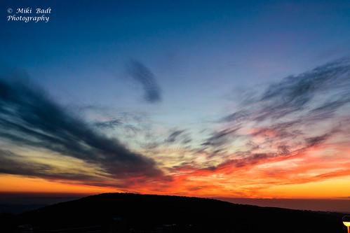 israel sunsets il naturelandscape haluts northdistrict