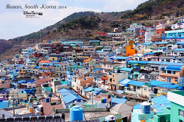 South Korea 2014 - Day 02 Busan Gamcheon Culture Village 13