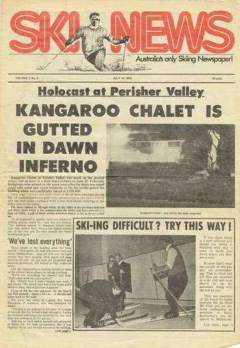 SkiNews 10 July 1970 p1