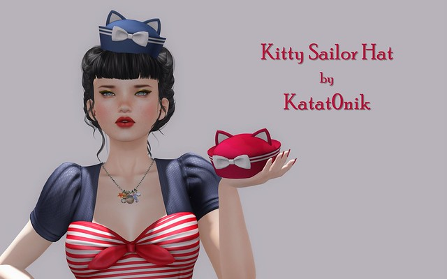 Kitty Sailor Hats