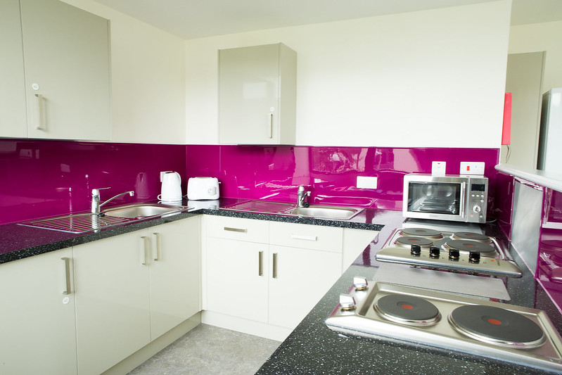 A kitchen in Marlborough Court and Solsbury Court