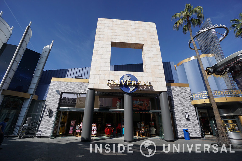 The CityWalk Universal Studios Store reopens with a new interior and facade