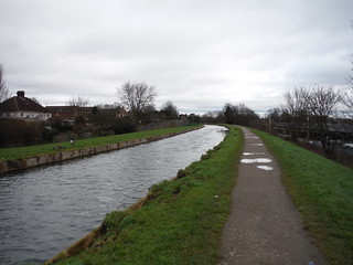 The New River at Broxbourne