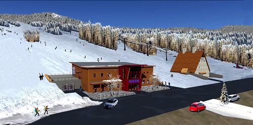 Camden Snow Bowl new lodge