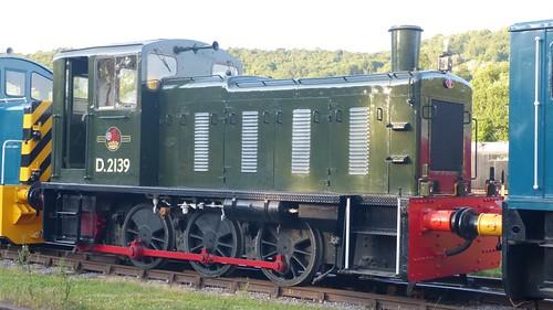 D2139 British Railways shunter