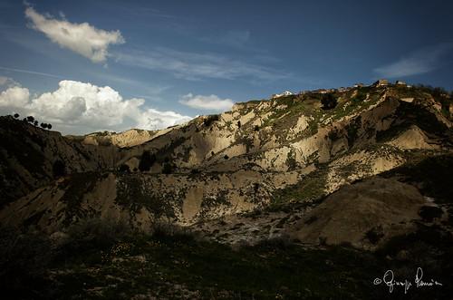 Montalbano Jonico - vista dei calanchi