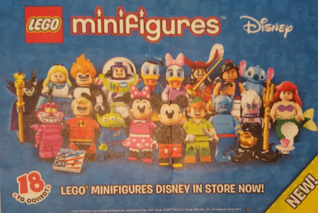 LEGO 《人偶抽抽樂》系列 第十八彈 『迪士尼角色大集合』!