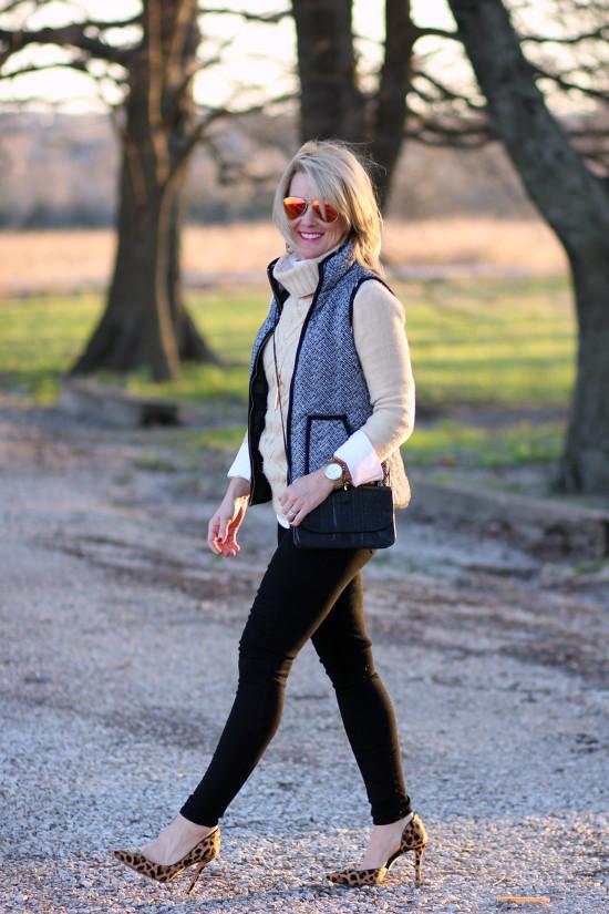 Hi Sugarplum   Neutral Winter Outfits Style