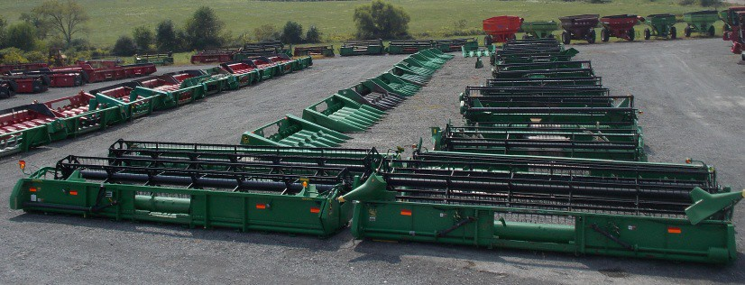 Used Combine Grain Heads for sale