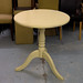 Cream painted circular table