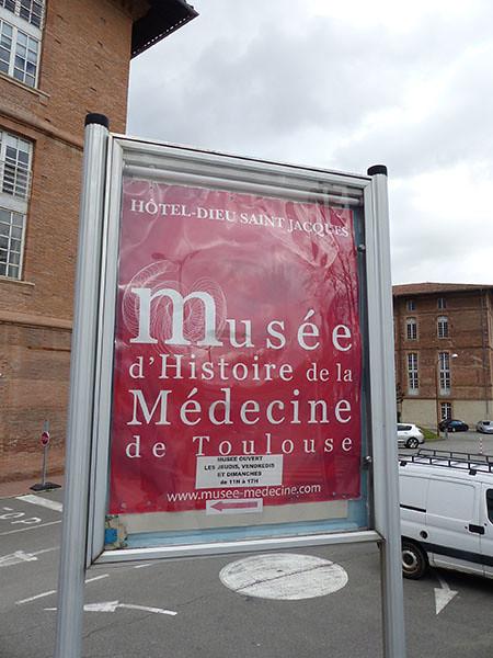 musée de l'histoire de la médecine de Toulouse