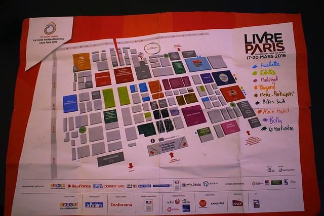 Livre Paris 2016 - Plan