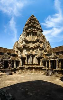 Image of Angkor Wat near Siem Reap. cambodia kh siemreap krongsiemreap