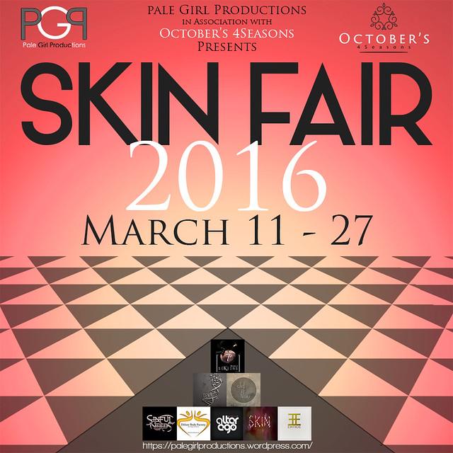 Skin Fair Poster 2016