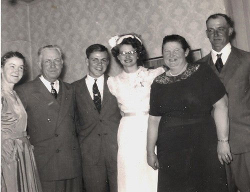 Dad and Mom's wedding