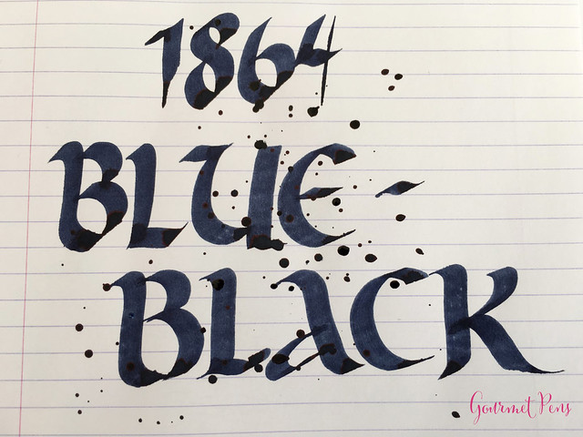 Ink Shot Review Diamine 150th Anniversary 1864 Blue Black (1 (5)