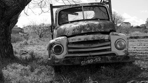 Velha carrinha Opel