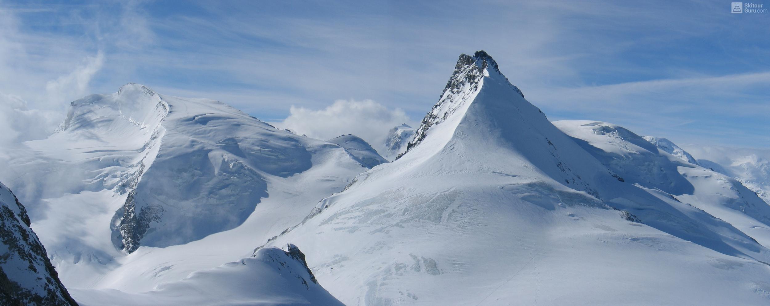 Allalinhorn Walliser Alpen / Alpes valaisannes Švýcarsko panorama 21