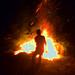 fire worker by wolfgangfoto