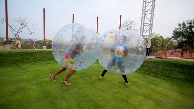Body Zorbing Mayhem Goa